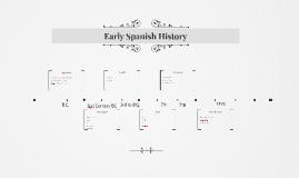 Early Spanish History