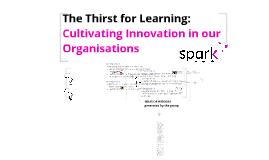 Organisational Innovation