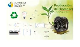 ¿Que es el biodiésel?