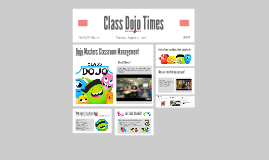 Class Dojo Times