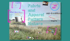 Fabric and Apparel Pattern Makers