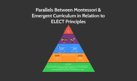 Parallels Between Montessori & Emergent Curriculum in Relati