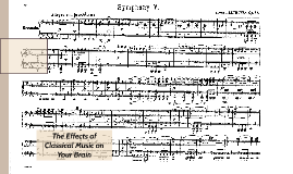 The Effects of Classical Music on Your Brain