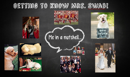 Getting to Know Mrs. Swab