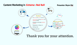 Content Marketing in Extreme : Red Bull Case study