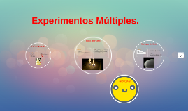 Experimentos Multiples.