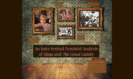 An Inter textual Feminist Analysis of Maus and The Great Gat