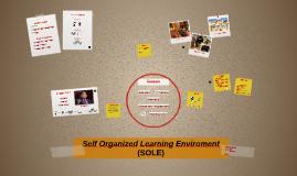 Sugata Mitra - Self Organized Learning Enviroment