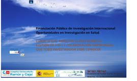131117 Investigación e Innovación en Salud en H2020