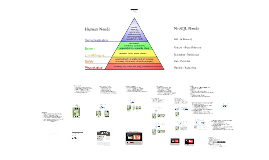 NoSQL - Maslow's Hierarchy of Reads (and Writes)