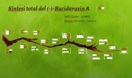 Sintesi total del (-)-Bucidarasin A