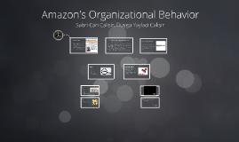 Amazon's Organizational Behavior BUS104