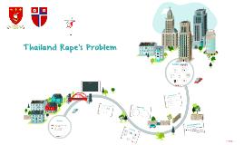 Thailand's Rape problem