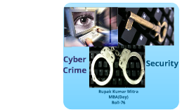 Cyber Crime & Security