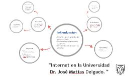 """""""Internet en la Universidad Dr. José Matías Delgado. """""""