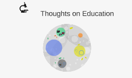 Thoughts on Education
