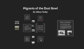 Migrants of The Dust Bowl