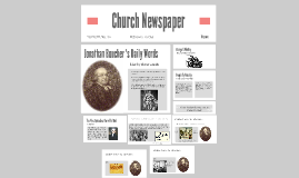 Copy of Church Newspaper