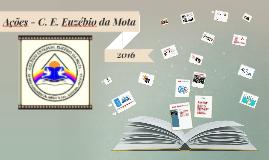 Ações - C. E. Euzébio da Mota - 2016