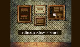 Fallot's Tetrology - Group 1