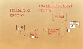 Italia - X-XI secolo