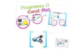 Copy of Programas De Televisión