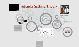 Agenda Setting Theory
