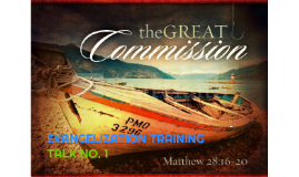 Copy of The Great Commission