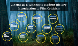 Cinema as a Witness to Modern History: Introduction to Film