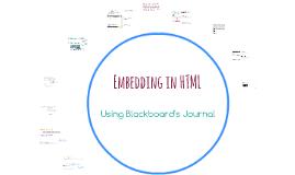 Embedding in HTML