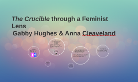 using feminist lens The feminist lens was applied to many areas of research hesse-biber and   there are several assumptions associated with feminist theory flax (1999) delin.