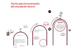 Copy of  Construcción del concepto de numero en Preescolar