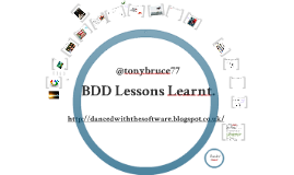 BDD Lessons Learned - Aylesbury