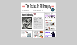 The Basics Of Philosophy