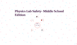 Lab Safety- Middle School Edition