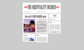 THE HOSPITALITY INSIDER