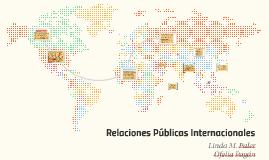 Relaciones Publicas Internacionales