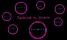 Saddleseat vs. Western
