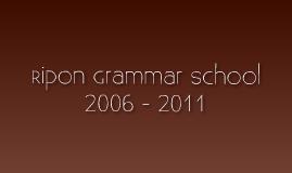 Ripon Grammar School 5th Form End of Year Presentation 2011