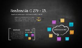 Copy of  SENTENCIA C 279 - 2013