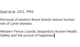 Swei et al. 2011, PRS
