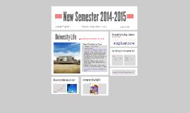 Copy of New Semester 2014-2015
