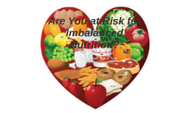 Copy of Are you at risk for imbalanced nutrition?