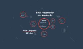 Run Books Presentation