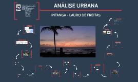 Análise Urbana - Ipitanga