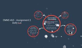 CMNS 453 : Assignment 2