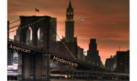 Copy of American Modernism