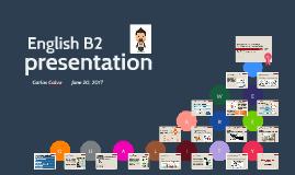 Copia de English B2 presentation. EFQM Model