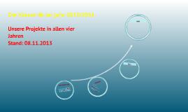 Die Klasse 4b im Jahr 2013/2014