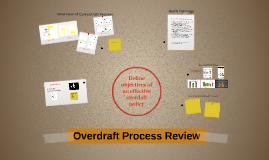 Overdraft Process Review